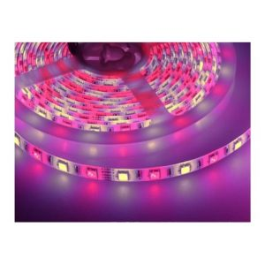 9,6W/m RGB+WW LED strip - 5m, 60 LED pr. meter